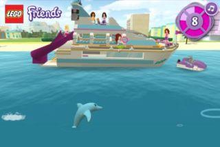 LEGO® Friends Výletní loď za delfíny