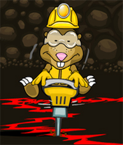 Mole vs. Lava